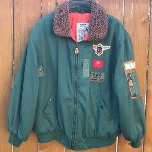 Other - Vintage Boys Paris Sport Club Bomber Jacket